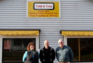 Kelley Tully, Casey Cota & Chris Cota are thrilled to 75 years of a family tradition!